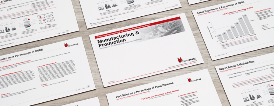 manufacturing benchmarking report pdf opsdog