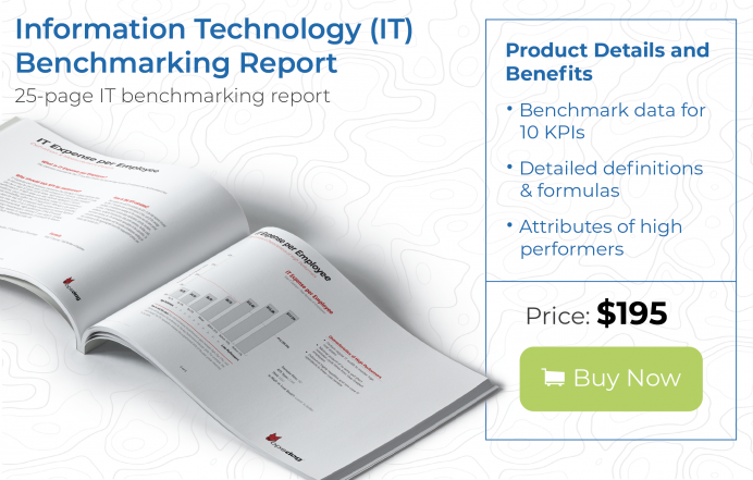 key performance indicators examples for information technology