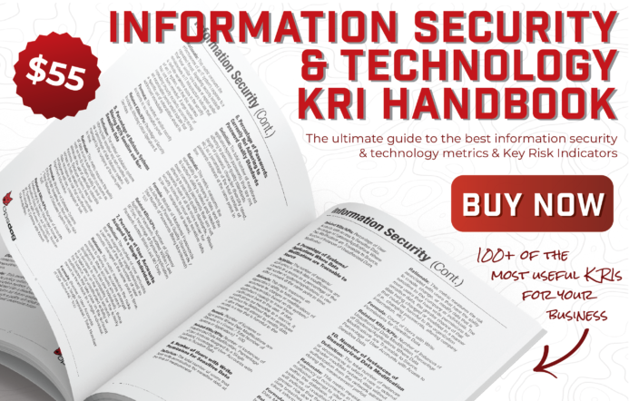 IT risk control guide with over 100 key risk indicators