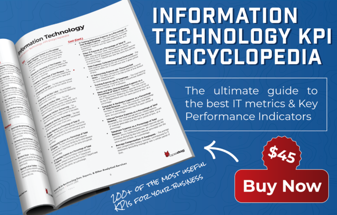 information technology performance metrics examples available for instant download