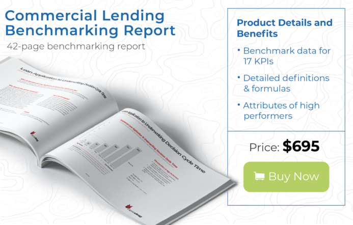commercial lending data kpi benchmarking report