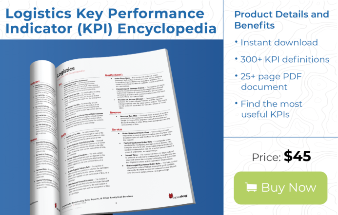 Logistics and shipping performance metrics and key performance indicators