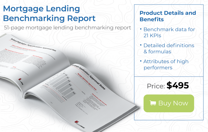 learn to benchmark mortgage lending to boost lender productivity